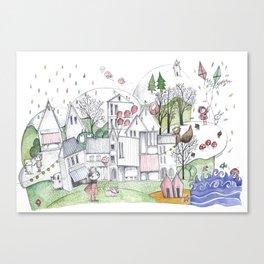 City Canvas Print