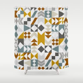 Mid West Geometric 06 Shower Curtain
