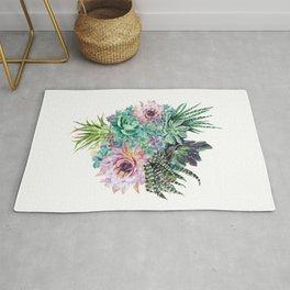 Succulent Bouquet Rug