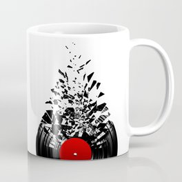Vinyl shatter Coffee Mug