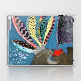 Let the Sea Stir Your Imagination Laptop & iPad Skin