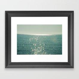 Pure magic of the sea Framed Art Print