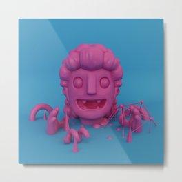 Bubblegum Vampire Metal Print