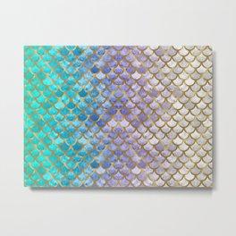 Scales 03 Metal Print
