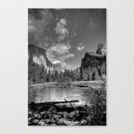 Merced River Under El Capitan, Yosemite Valley, October 2010 Canvas Print