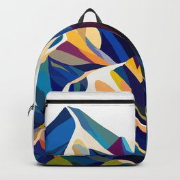 Mountains cold Backpack