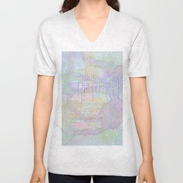 Words and Water Paint Unisex V-Neck