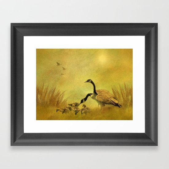 Teach Framed Art Print