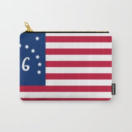 United States (Bennington '76) Flag Carry-All Pouch