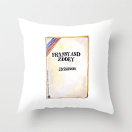 Franny and Zooey Throw Pillow