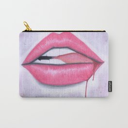 Bite it. Carry-All Pouch