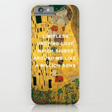 The Kiss Across the Universe Slim Case iPhone 6s