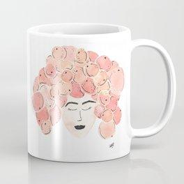 The girl with the tangerine hair. Coffee Mug