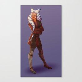 Jedi Ahsoka Canvas Print