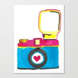Love Snap Canvas Print