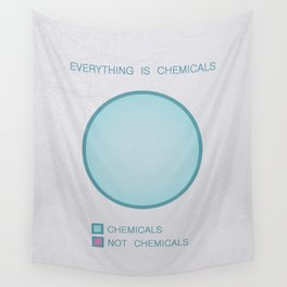 Everything is Chemicals Wall Tapestry