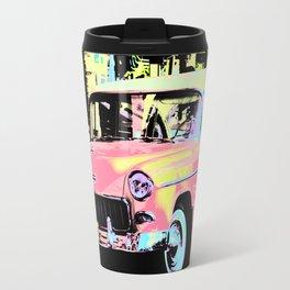 Cuban Classic Car Travel Mug