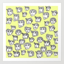 People are watching -2- Art Print