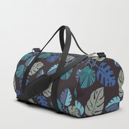 Blue Frond Duffle Bag