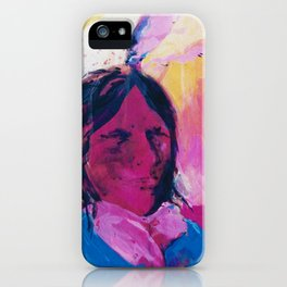 Indian 2 by Kathy Morton Stanion iPhone Case