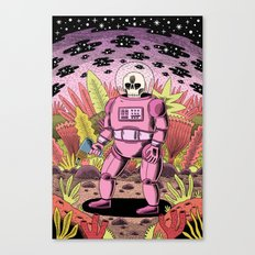 The Dead Spaceman Canvas Print