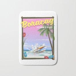 Boracay Philippines beach Bath Mat