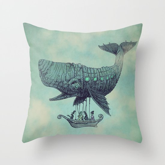 Tea at 2,000 Feet Throw Pillow