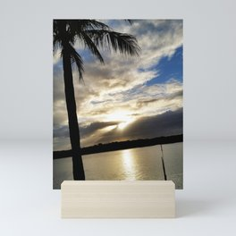 beautiful sunset Mini Art Print