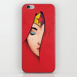 Wonder,  DC Hero, Woman Power, Calm iPhone Skin