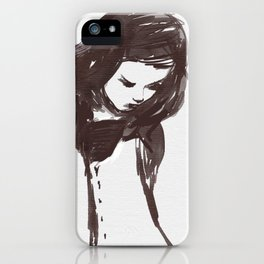 Scowl iPhone Case