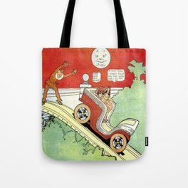 Little Nemo's moonlight ride Tote Bag