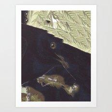 SURREAL BIRD Art Print