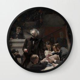 Thomas Eakins - Portrait of Dr Samuel D Gross (The Gross Clinic) Wall Clock