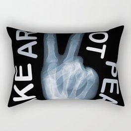 Rise Peace Rectangular Pillow