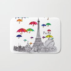 Travel with Umbrella Bath Mat