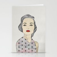 silver Stationery Cards featuring Silver by John Murphy