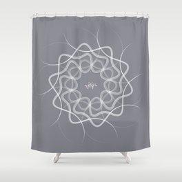 Ornament-Joy Shower Curtain