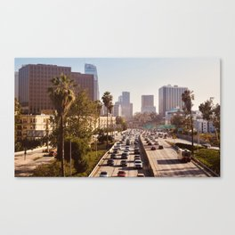 The Rush Hour, DTLA Canvas Print