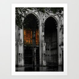 Cathedral Art Print