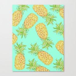 Pineapple of My Eye  Canvas Print