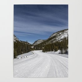 Carol Highsmith - Snow Covered Road Poster