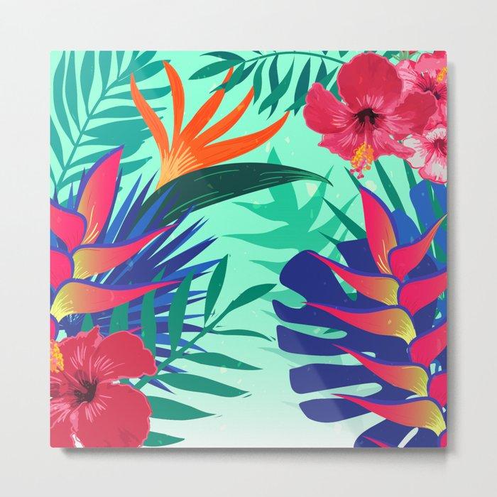 Tropical Pattern 6 Metal Print