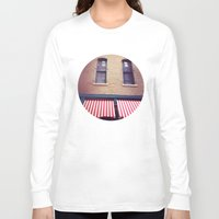 memphis Long Sleeve T-shirts featuring Memphis Wall by wendygray