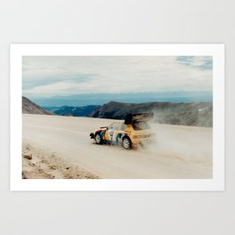 Race Way Art Print