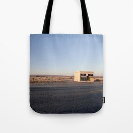 Donald Judd, Marfa TX Tote Bag