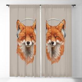 The Musical Fox Blackout Curtain