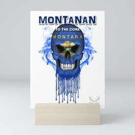 To The Core Collection: Montana Mini Art Print