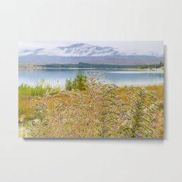 Field of Lupines Metal Print