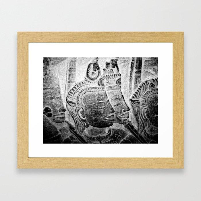Faces II Framed Art Print