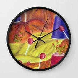Lollipop Land Wall Clock